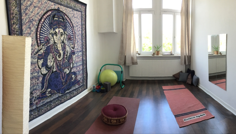 Mein Yogazimmer